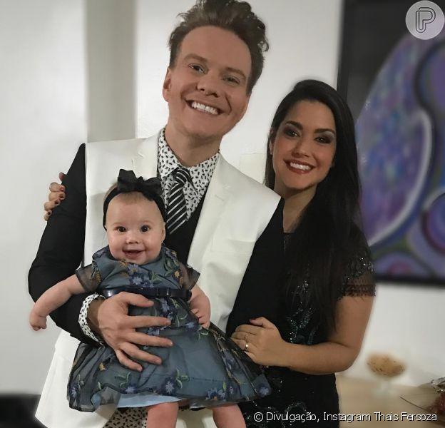 Thais Fersoza revelou que fica 'feliz' com sucesso da filha, Melinda, de sete meses, nas redes sociais