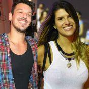 João Vicente de Castro beija modelo Valentina Rezende em festa de Carol Sampaio
