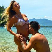 Grávida, Andressa Suita anuncia nome do filho com Gusttavo Lima: 'Gabriel'