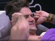 'BBB17': Marcos tampa ouvido durante discussão com Emilly. 'Lá fora sou feliz'