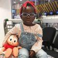 Títi, de 3 anos, é filha de Giovanna Ewbank e Bruno Gagliasso, casados há oito anos