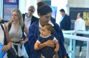 Sophie Charlotte celebra primeiro ano do filho, Otto: 'Ser mãe é dor e delicia'