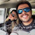 Mirella Santos e Wellington Muniz comemoraram gravidez do primeiro filho: '