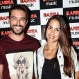 Pérola Faria e Bernardo Velasco chegaram juntos no show de Anitta em abril de 2016 em uma casa de espetáculos