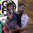 A semelhança entre Sofia, de 5 anos, e Cauã Reymond surpreendeu