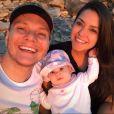 Thais Fersoza e o marido, o sertanejo Michel Teló, são pais de Melinda, de 7 meses