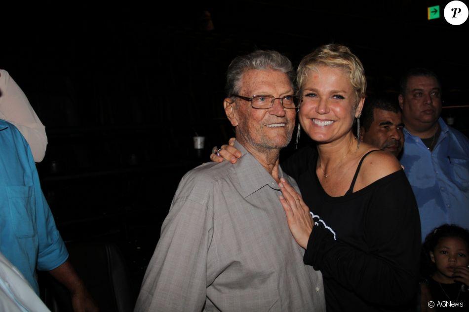 Pai de Xuxa será velado e cremado nesta segunda-feira no Rio