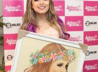 Larissa Manoela volta aos palcos após férias e ganha quadro de fã: 'Muito feliz'
