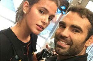 Bruna Marquezine reclama de dor durante treino com personal: 'Chega!'. Vídeo!