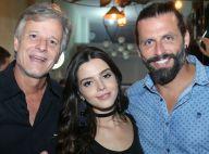 Giovanna Lancellotti, Juliana Alves e mais atores vão à festa de 'Sol Nascente'