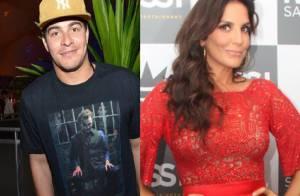 Ivete Sangalo vai gravar participação no CD de Thiago Martins