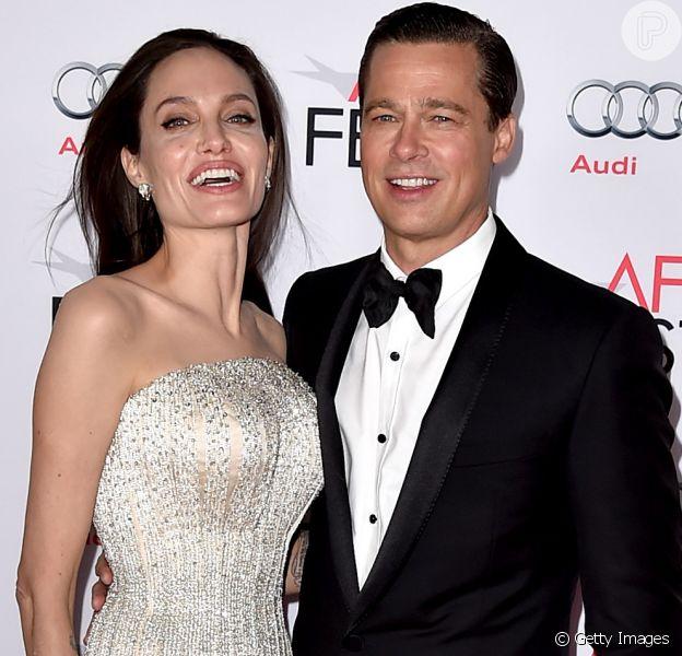 Angelina Jolie volta a falar com ex Brad Pitt após separação polêmica