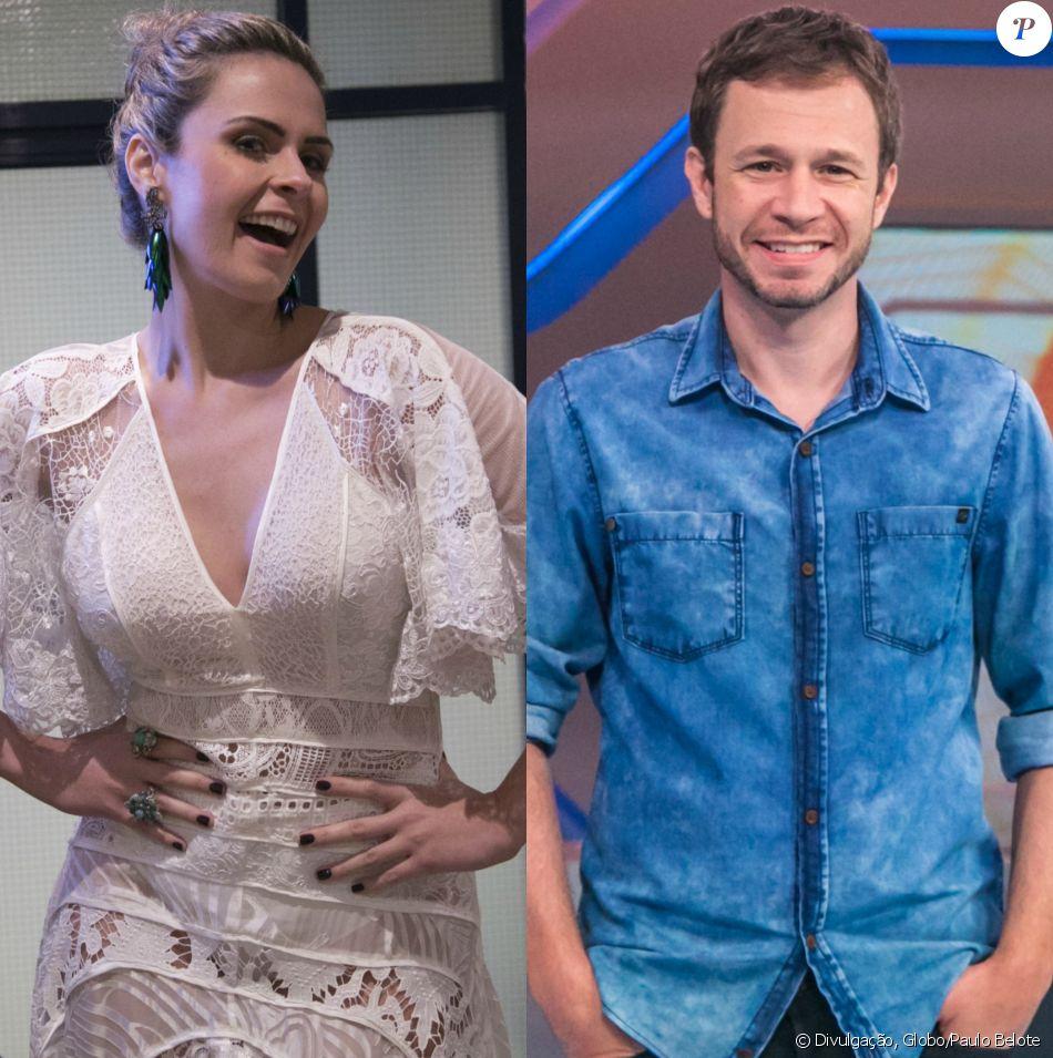 Ana Paula Renault criticou o 'BBB 17', mas elogiou o apresentador Tiago Leifert nesta quarta-feira, 22 de março de 2017