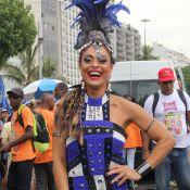 Juliana Paes começa a negociar posto de rainha de bateria com a Grande Rio