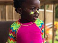 Giovanna Ewbank mostra filha, Títi, com rosto pintado em Noronha: 'Deusinha'