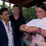 Graciele Lacerda come ovo cru como prova de amor ao namorado, Zezé Di Camargo