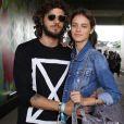 Chay Suede e Laura Neiva estiveram no primeiro dia do festival de música