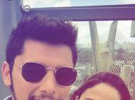 Bruno Gissoni marca presença no festival Lollapalooza ao lado de amiga, em SP