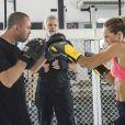 Paolla Oliveira revelou que o corpo mudou após começar a lutar