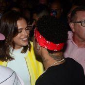 Neymar e Bruna Marquezine namoram durante show sertanejo em SP. Fotos!