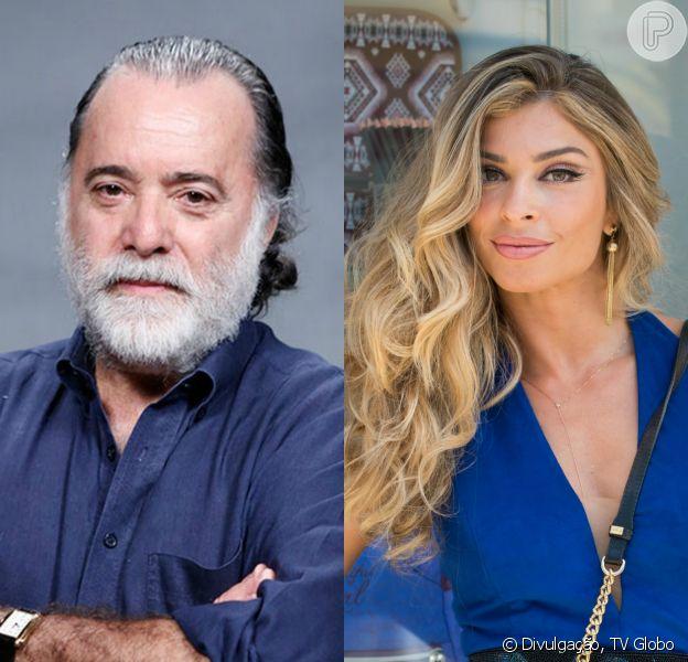 Tony Ramos entra na novela 'A Lei do Amor' como amante de Luciane (Grazi Massafera)