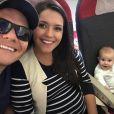 Thais Fersoza contou que segunda gravidez foi planejada com Michel Teló para que Melinda, de 7 meses, tivesse companhia: 'Para conviver, crescer junto, seria melhor dois logo. Antes de ela fazer um ano, a gente queria estar grávido de novo'