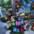 Veja fotos da decoração da festa de aniversário da atriz Viviane Araújo, realizada em um sítio em Jacarepaguá, Zona Oeste do Rio de Janeiro, neste domingo 3 de abril de 2017