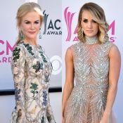 CMA Awards: Nicole Kidman e Carrie Underwood arrasam no look em prêmio. Fotos!