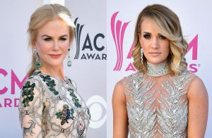 CMA Awards: Nicole Kidman e Carrie Underwood arrasam no look em prêmio. Fotos!