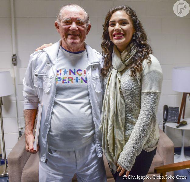 Lívian Aragão lembrou reação do pai, Renato, ao anunciar namoro com DJ José Marcos