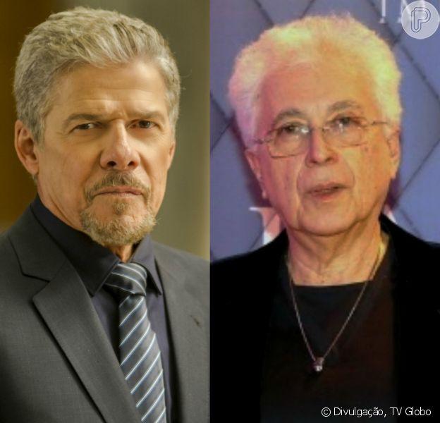José Mayer segue no elenco da novela 'O Sétimo Guardião', afirmou seu autor, Aguinaldo Silva, para a coluna 'Gente Boa', nesta segunda-feira, 3 de abril de 2017