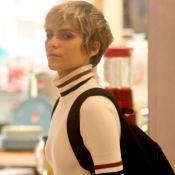Isabella Santoni exibe visual loiríssimo em shopping após fim de novela. Fotos!