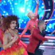 Xuxa dançou na estreia do 'Dancing Brasil'