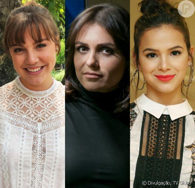 Alice Wegmann, Monica Iozzi e Bruna Marquezine são algumas das atrizes que entraram para a campanha 'Mexeu com uma, mexeu com todas'