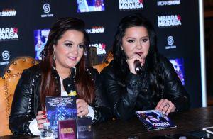 Maiara e Maraisa brincam ao dedicar música a José Mayer: 'Tenho medo de você'