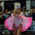 Ellen Roche veio vestida como a boneca Barbie