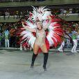 Suzana Pires desfilou como musa da Vila Isabel