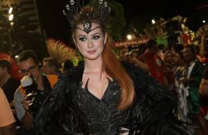 Marina Ruy Barbosa estreia no Carnaval com fantasia comportada: 'Sou novinha'