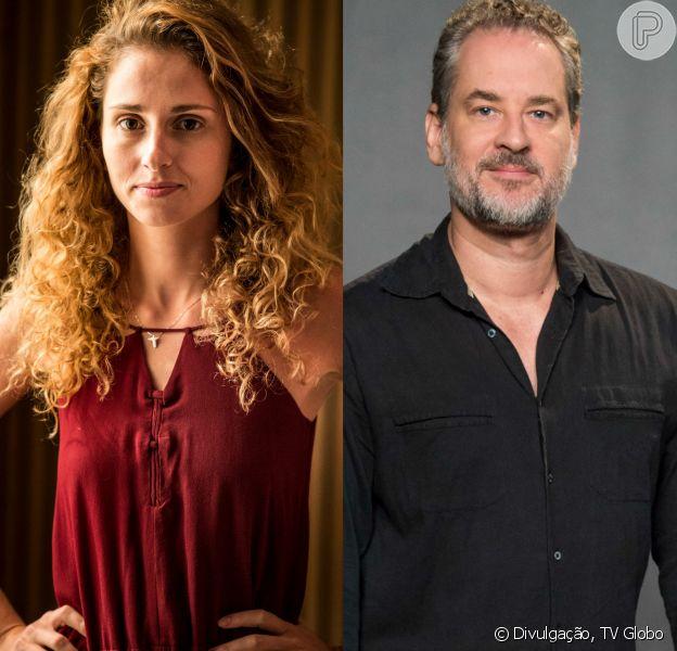 Ivana (Carol Duarte) flagra Eugênio (Dan Stulbach) com Irene (Débora Falabella) em jantar romântico em restaurante, na novela 'A Força do Querer'