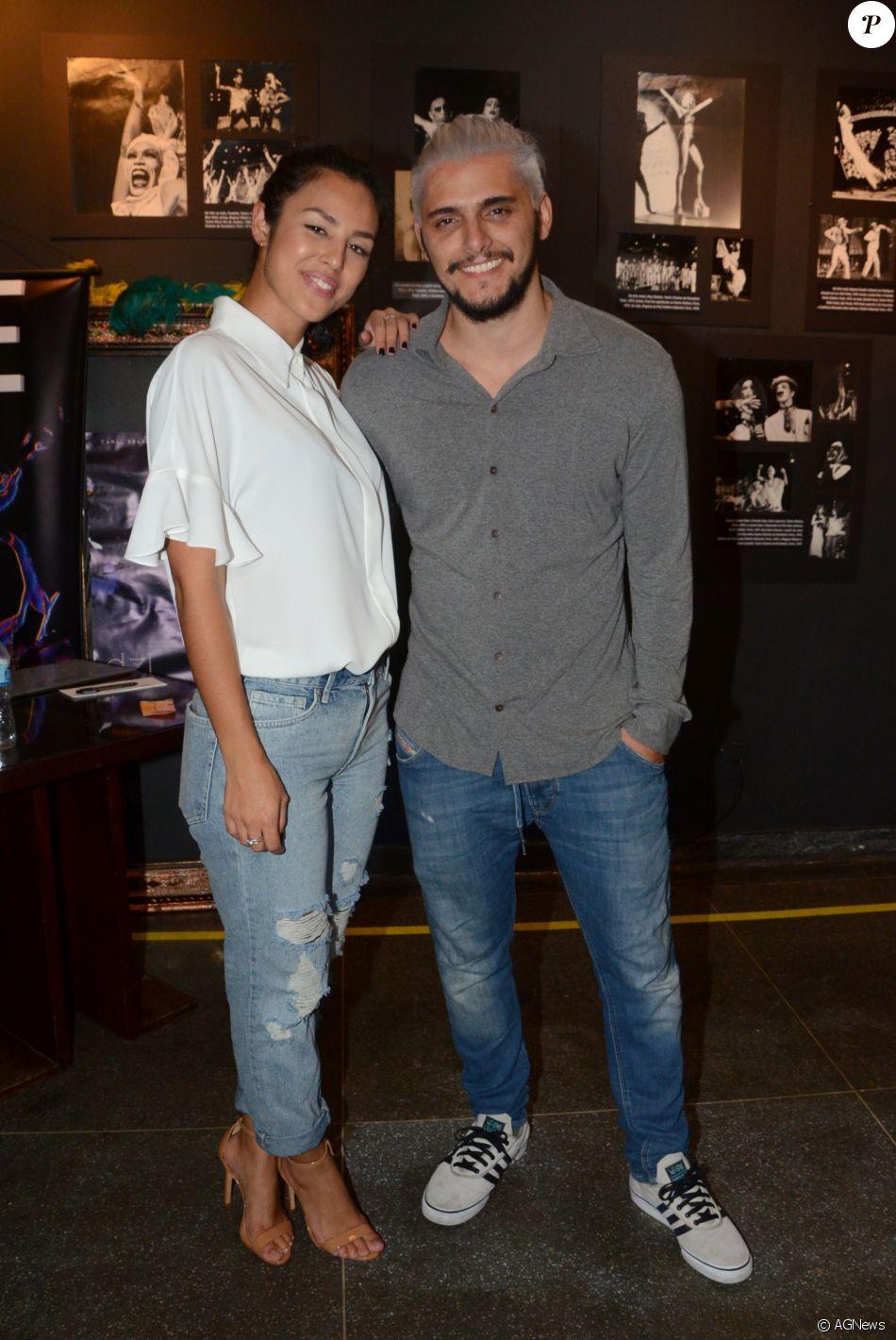 Yanna Lavigne e Bruno Gissoni moram juntos em um apartamento, mas atriz nega ter reatado o namoro