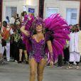 Susana Vieira, rainha da Grande Rio, atravessa a Sapucaí no primeira dia de desfiles do Rio de Janeiro