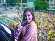 Anitta reúne multidão para show em inauguração de academia em São Paulo. Fotos!