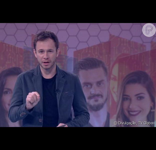 Tiago Leifert exaltou as finalistas do 'BBB17', Emilly, Ieda e Vivian: 'Foram impecáveis'