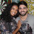 Aline Dias espera o primeiro filho com o namorado, Rafael Cupello
