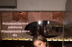 Bruna Hamú exibe barrigão de 7 meses de gravidez em foto: 'Julinho'