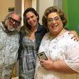 Ana Paula Renault estreou como repórter do 'Fofocalizando'