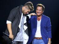 Zé Felipe chora ao cantar ao lado do pai, Leonardo, em gravação de DVD. Fotos!