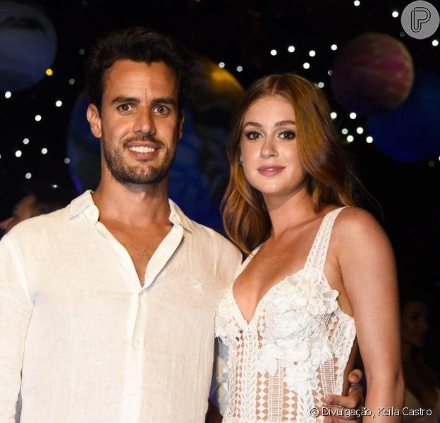 Marina Ruy Barbosa indicou que está morando com o noivo, Xandinho Negrão, em São Paulo