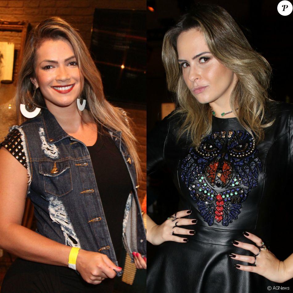 Ex-BBB Fani Pacheco rebate Ana Paula Renault e defende Marcos no Twitter nesta quarta-feira, dia 12 de abril de 2017