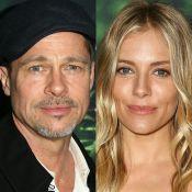 Solteiro, Brad Pitt é visto em clima de romance com Sienna Miller: 'Animado'